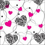 Zebra Hearts | 1127-240A >240 feuilles la rame