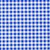 Bleue Gingham / White