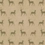 Kraft avec rennes or > 100 feuilles rame