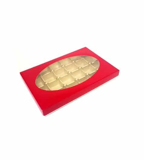 Bo tes carton pour chocolats avec fen tre les emballages 123 for Fenetre 123
