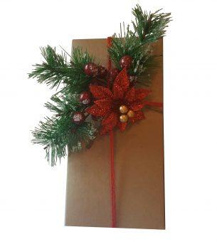 Ornement de Noël pour emballages cadeaux