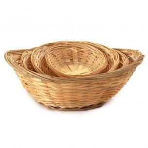 Paniers ovale en bambou